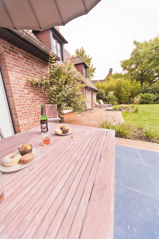 Terrasse de rêve à Lille avec salon de jardin. | Arbrecréation