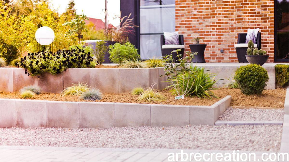 jardin moderne dans la campagne d\'Arras | Arbrecréation